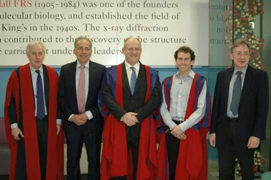 Professor Adam Fox gives his inaugural lecture, in recognition of his academic promotion to Professor, at King's College London