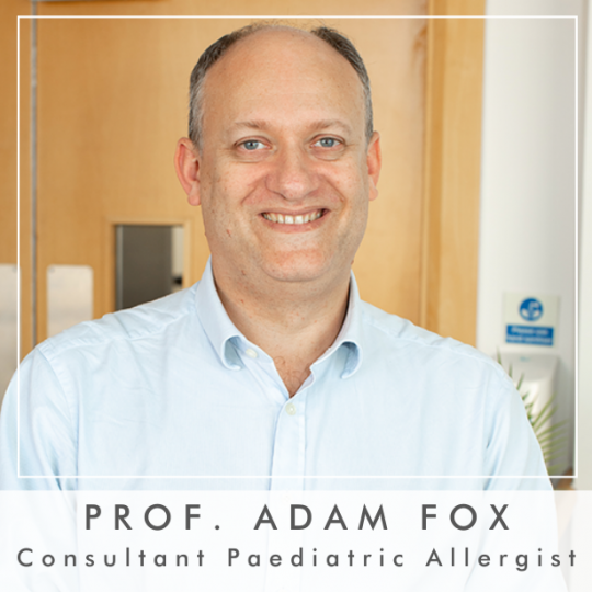 Professor Adam Fox Joins The Panel of Experts At The Baby Show Live @ Home